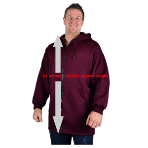 Extra Tall Zip Up Hoodies