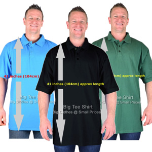 Extra Tall Polo Shirts