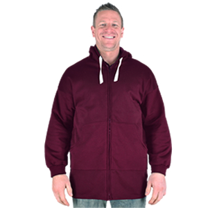 Extra Long Zip-Up Hoodies 9XL to 13XL