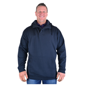 Button/Toggle Fastening Hoodies