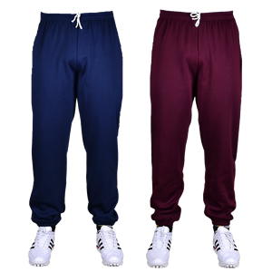 Plain Elasticated Ankle Joggers